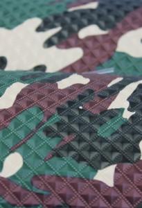 Capa PVC 1.3 Gravado Estampado Camuflado