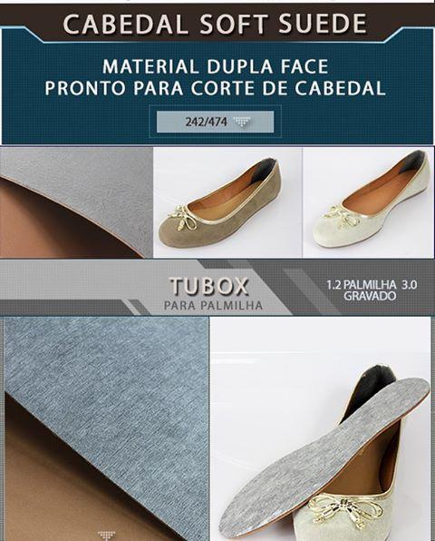 Novidade!!! Cabedal Soft Suede Material dupla face pronto para cortehellip